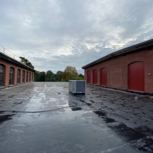 Boston Rubber Roof Replacement
