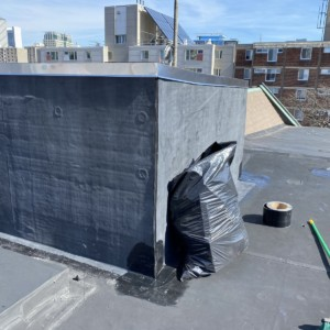 South End Boston Rubber Roof Repair